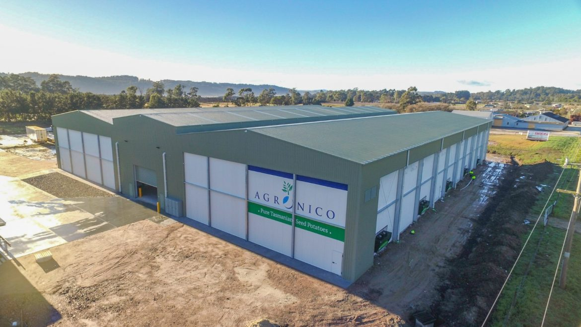 Agronico launch a new coolstore in Spreyton