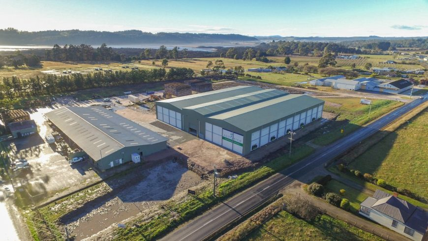 Agronico opens new purpose-built coolstore at Spreyton