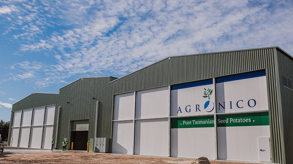 Vertically integrated seed potato supplier Agronico expands storage capacity