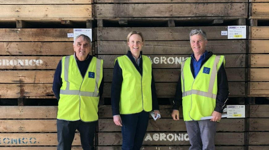 Agronico has been approached to supply seed potatoes to Asia