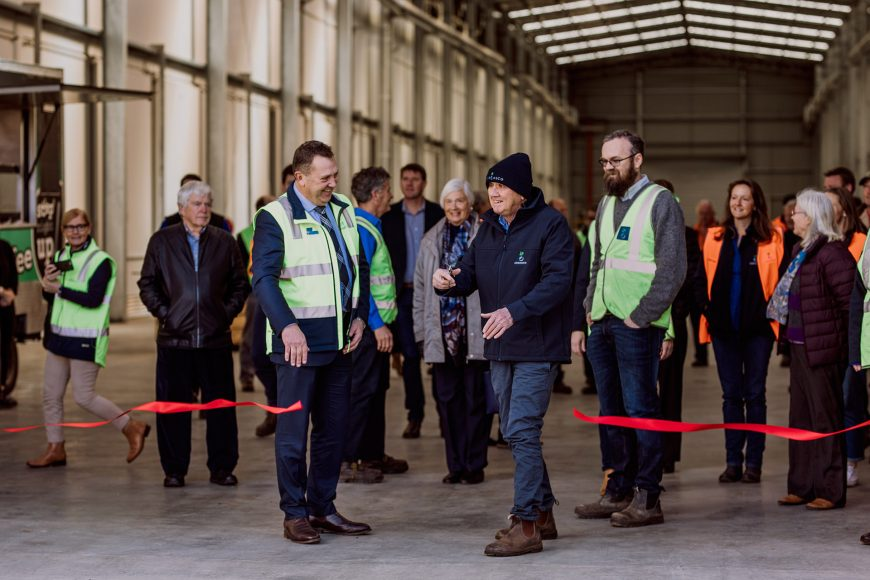 Tasmania's technologically sophisticated coolstore grows